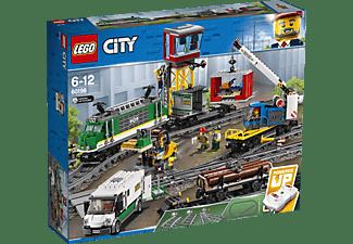 LEGO 60198 Güterzug Bausatz, Mehrfarbig