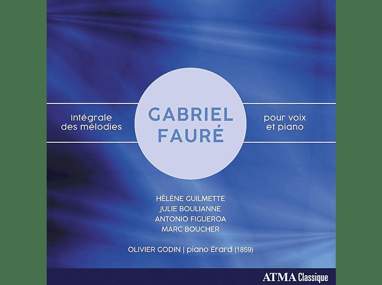 Antonio Figueroa, Marc Boucher, Olivier Godin, Helene Guilmette, Julie Boulianne - Intégrale Des Mélodies Pour Voix Et Piano [CD]