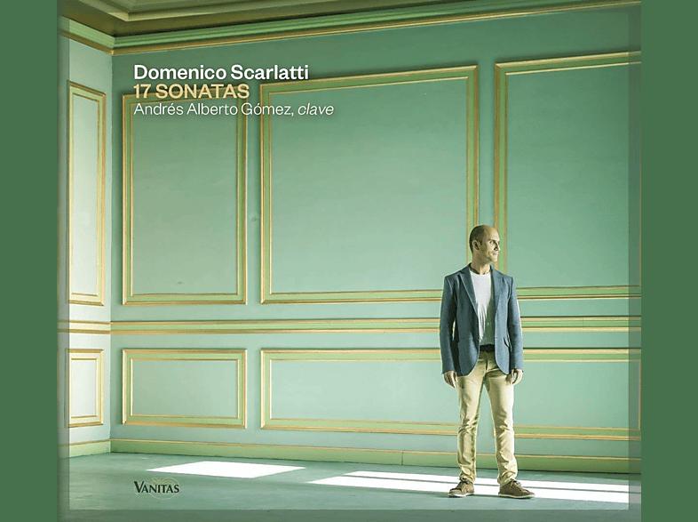 Andrés Alberto Gomez - 17 Sonatas [CD]