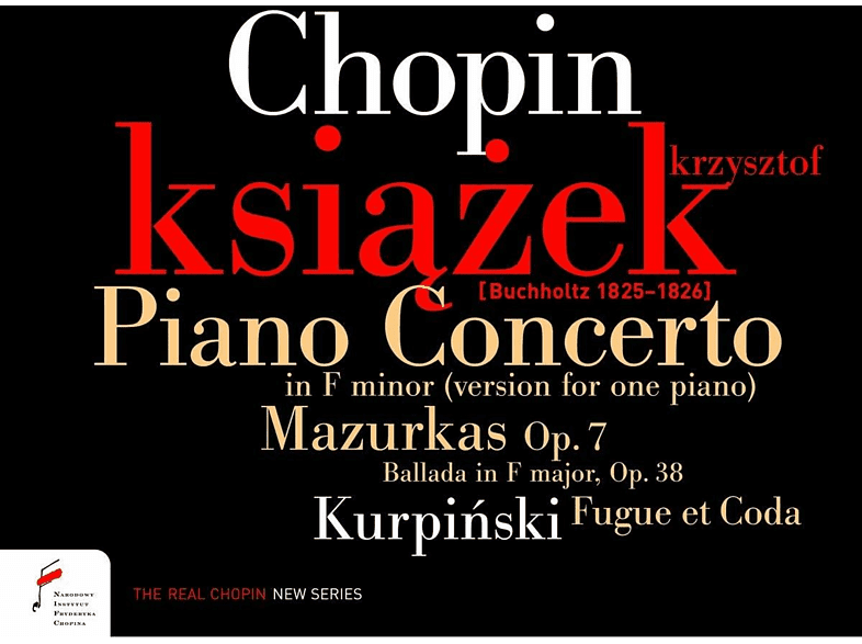 Krzysztof Ksiazek - Piano Concerto In F-Minor,Mazurkas, Ballada In F Major [CD]