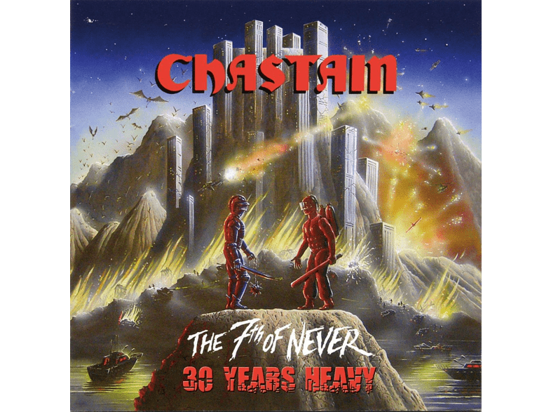 Chastain - The 7th Of Never 30 Years Heavy (Black Vinyl) [Vinyl]