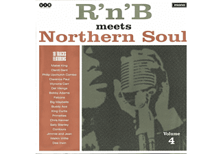 VARIOUS - R'N'B' MEETS NORTHERN SOUL, VOL. 4  - (Vinyl)