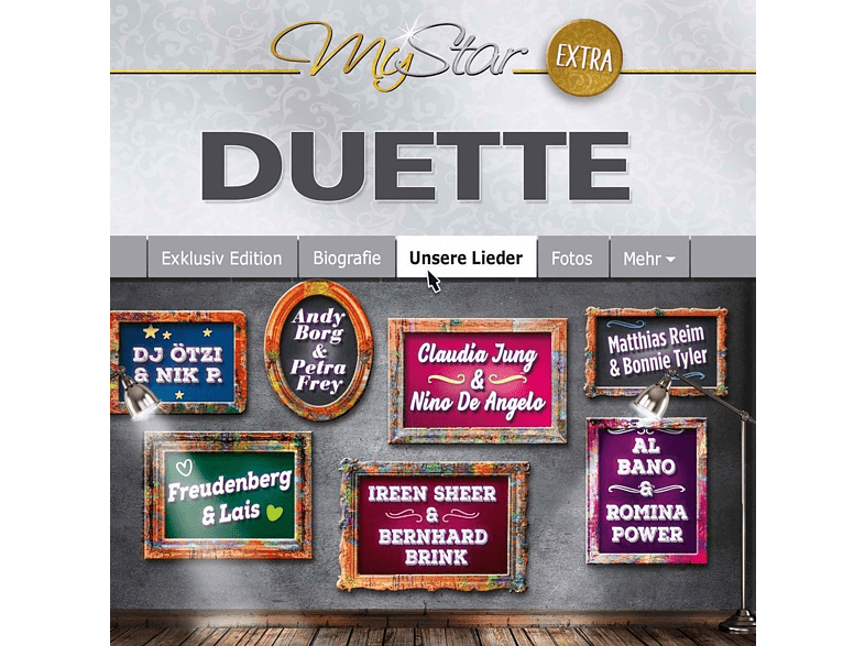 VARIOUS - My Star-Extra (Duette) [CD]