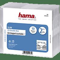 HAMA Slim Double CD-Leerhülle