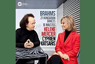 Helene Mercier, Cyprien Katsaris - 21 Ungarische Tänze & 16 Walzer [CD]