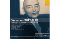 Sergey Kostylev, Olga Solovieva - Complete Music for Violin and [CD]
