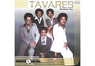 Tavares - Greatest Hits Live - (CD)