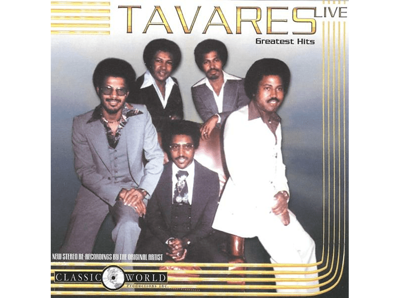 Tavares - Greatest Hits Live [CD]