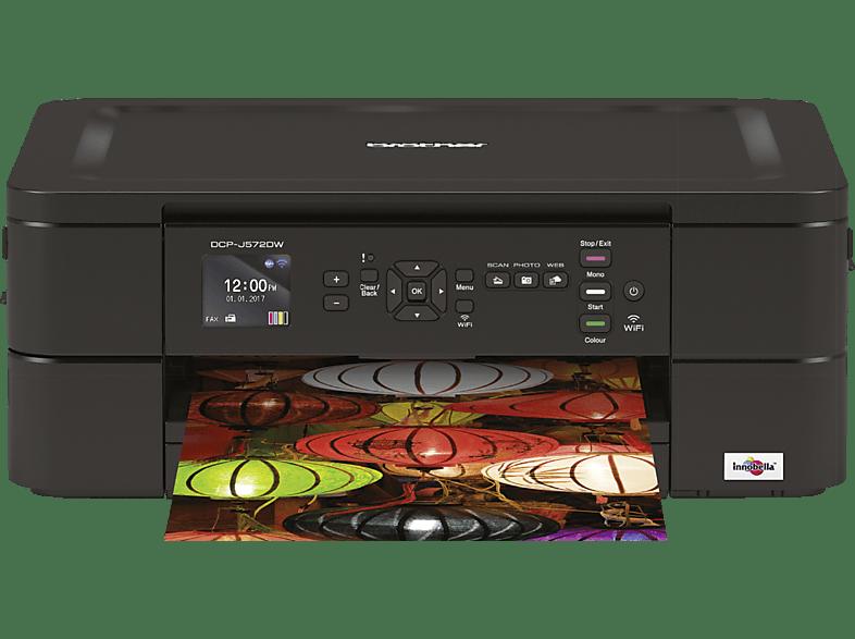 BROTHER DCP-J572DW Piezo-Tintendruck Multifunktionsdrucker WLAN Netzwerkfähig