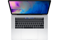 APPLE MacBook Pro MR962D/A-139876 mit deutscher Tastatur, Notebook mit 15.4 Zoll Display, Core i7 Prozessor, 16 GB RAM, 2 TB SSD, Radeon™ Pro 555X, Silber