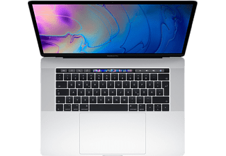 APPLE MacBook Pro MR972D/A-140195 mit US-Tastatur, Notebook mit 15,4 Zoll Display, Core i9 Prozessor, 2 TB SSD, Radeon™ Pro 560X, Silber