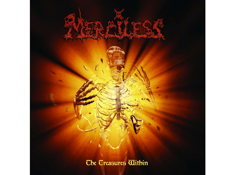 Merciless - Treasures Within (Limited Transparent Orange LP) [Vinyl]