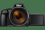 NIKON Coolpix P1000 Bridgekamera Schwarz, 16 Millionen Pixel, 125x opt. Zoom, TFT-LCD