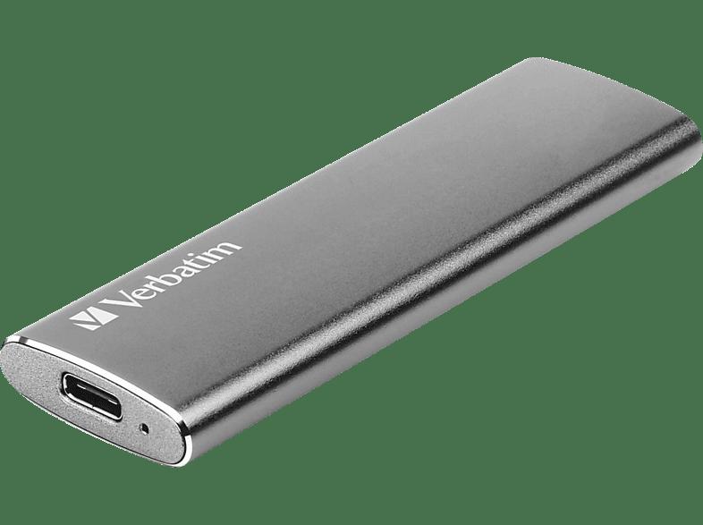 VERBATIM Store n Go Vx500 120GB SSD USB 3.1, 120 GB SSD, extern, Silber