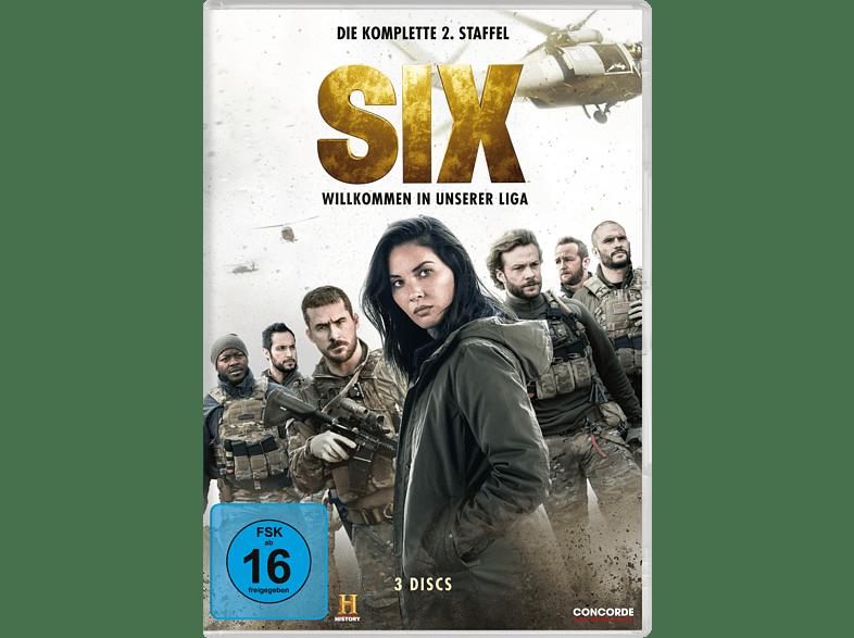 SIX – Die komplette 2. Staffel [DVD]