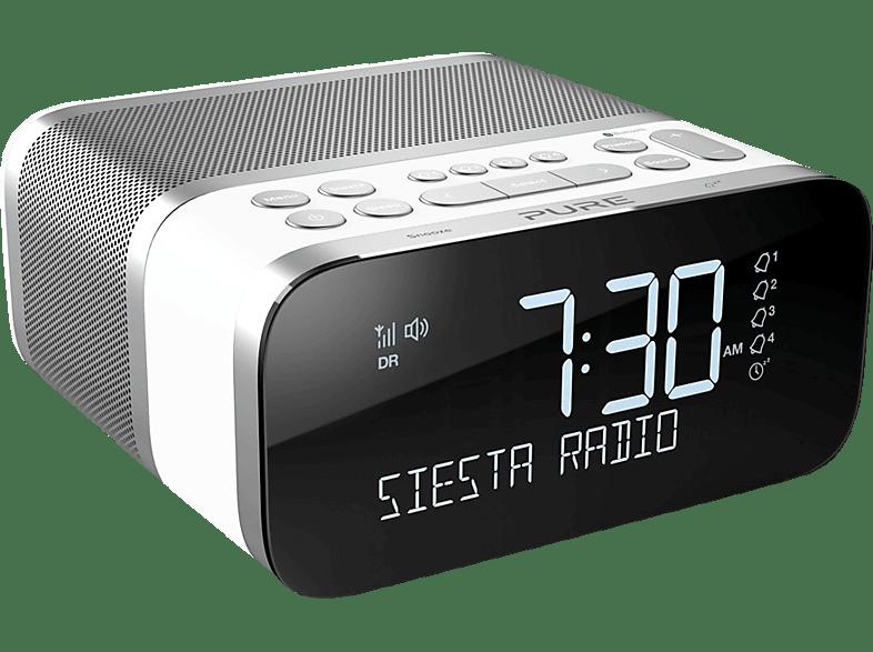 PURE 151853 Siesta S6 Radio-Wecker (Weiß)