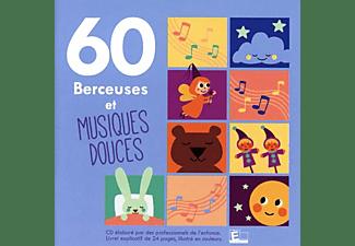 VARIOUS - 60 Berceuses et musiques douces  - (CD)
