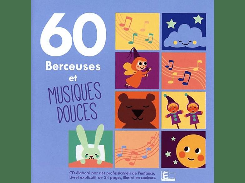 VARIOUS - 60 Berceuses et musiques douces [CD]