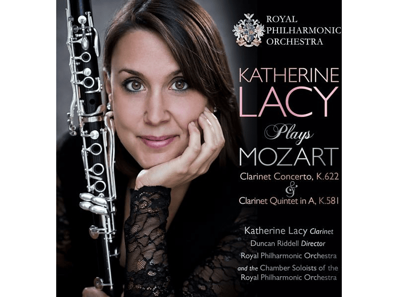 Lacy,Katherine/Riddell,Duncan/RPO/+ - Katherine Lacy plays Mozart [CD]