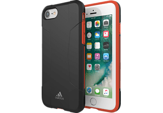 ADIDAS SPORT 29557 Handyhülle, Apple iPhone SE (2020),iPhone 6, iPhone 6S, iPhone 7, iPhone 8, Schwarz/Rot