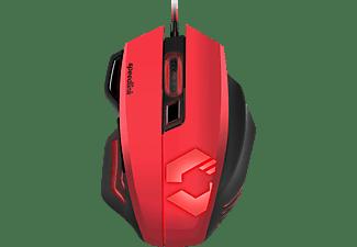 SPEEDLINK Decus Respec Gaming Maus, Schwarz/Rot