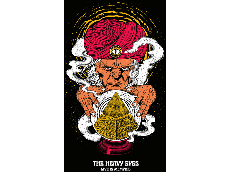 Heavy Eyes - LIVE IN MEMPHIS (BLACK) [Vinyl]