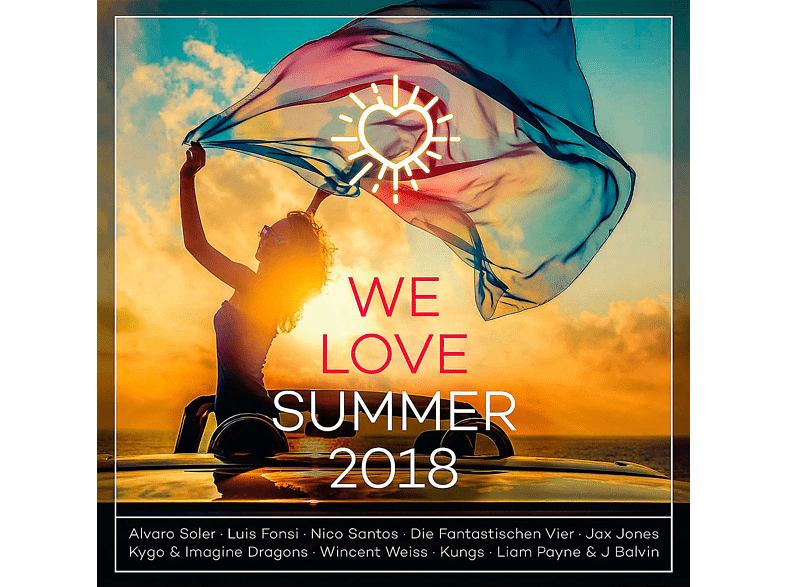 VARIOUS - We Love Summer 2018 [CD]