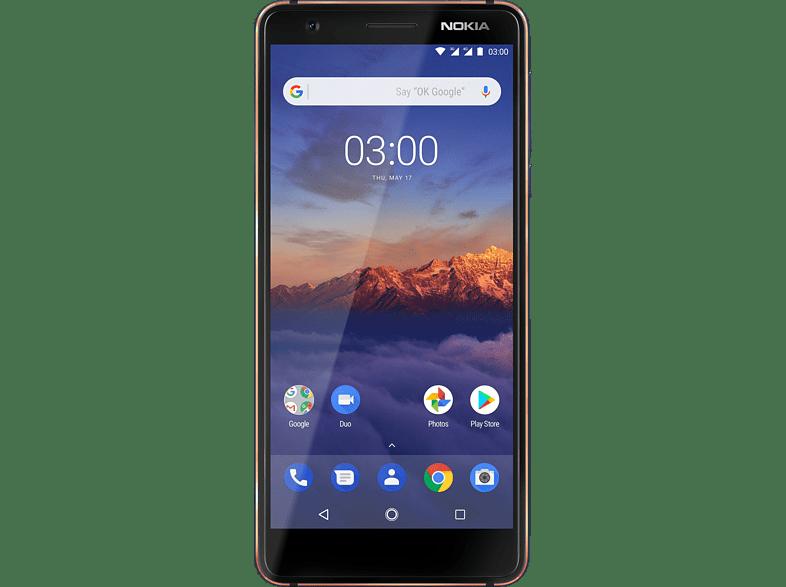 NOKIA 3.1 16 GB Blau/Kupfer Dual SIM