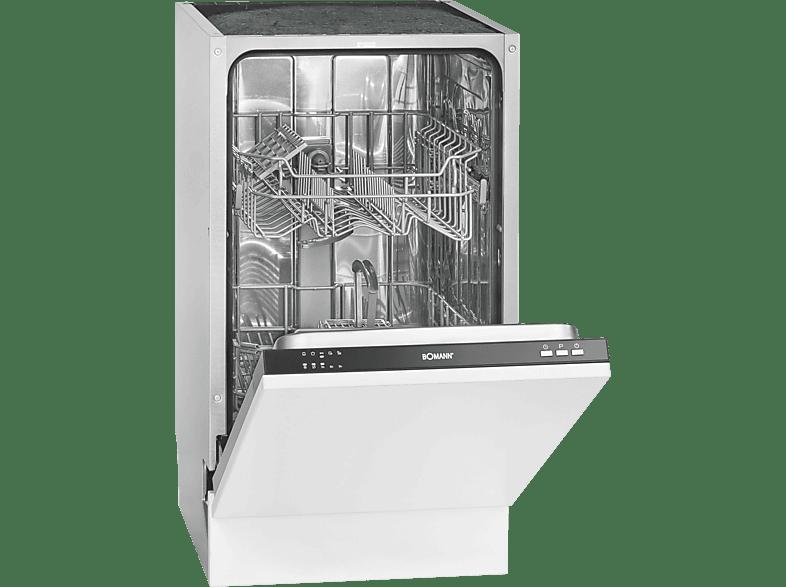 BOMANN GSPE 891 VI  Geschirrspüler (vollintegrierbar, 448 mm breit, 48 dB (A), A++)