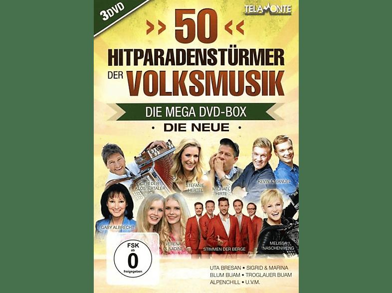 VARIOUS - 50 Hitparaden-Stürmer der Volksmusik-Die Neue [DVD]