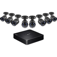 TRENDNET 8-Kanal HD CCTV DVR Überwachungskit