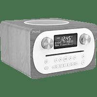 PURE Evoke C-D4 Digitalradio Digital Radio, Grau