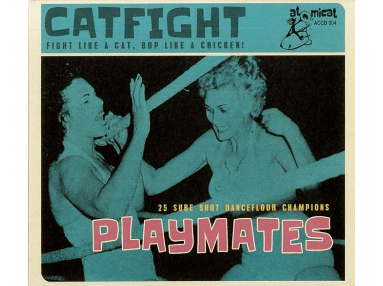 VARIOUS - Cat Fight Vol.4-Playmates [CD]