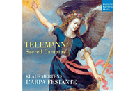 Klaus Mertens, L Arpa Festante - Sacred Cantatas [CD]