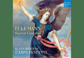 Klaus Mertens, L Arpa Festante - Sacred Cantatas  - (CD)