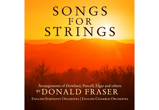 Donald Fraser, English Chamber Orchestra, English SymphonyOrchestra - Songs For Strings  - (CD)