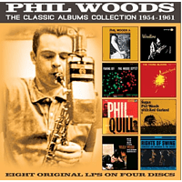 Phil Woods - The Classic Albums Collection: 1954-1961 [CD]