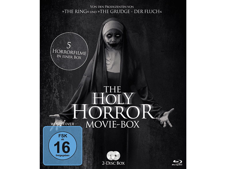 The Holy Horror Movie Box [Blu-ray]