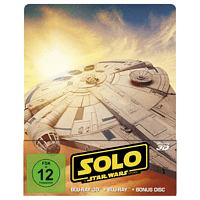 Solo: A Star Wars Story Steelbook - 3D + 2D [3D Blu-ray (+2D)]