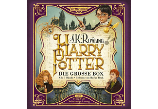 J. K. Rowling - Harry Potter: Die große Box  - (MP3-CD)