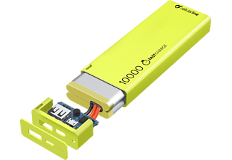 CELLULAR-LINE Portable Charger USB Free Power Slim 10000mAh Groen