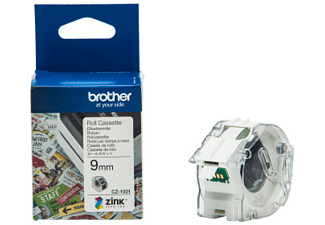 BROTHER CZ-1001 COLOUR PAPER TAPE 9MM/5M -