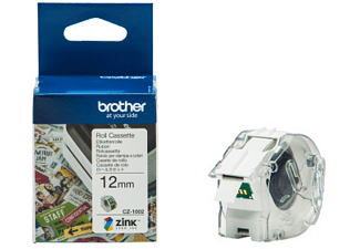 BROTHER CZ-1002 COLOUR PAPER TAPE 12MM/5M -
