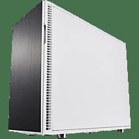 FRACTAL DESIGN Define R6 White TG PC Gehäuse,  weiß / Front : schwarz
