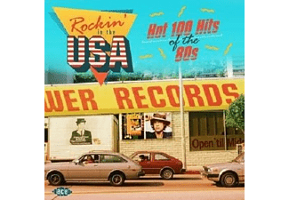 VARIOUS - Rockin' In The USA-Hot 100 Hits Of The 80s  - (CD)