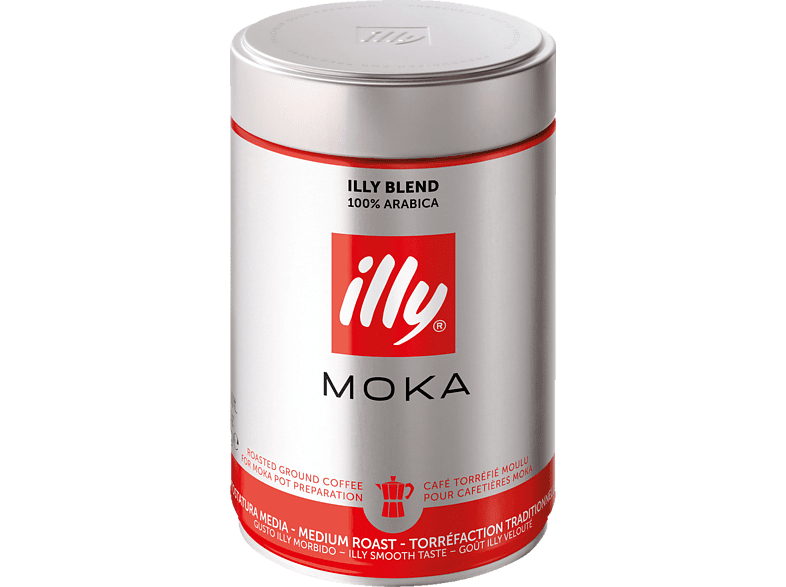 ILLY 3369 Moka gemahlener Kaffee