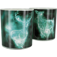 PALADONE PRODUCTS Harry Potter Patronus Glas 400ml 2 Stk. Becher & Gläser