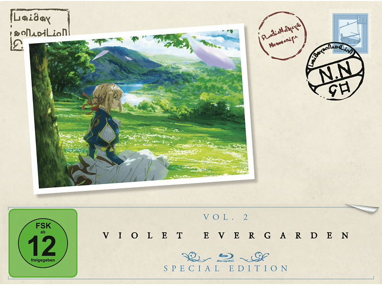 Violet Evergarden - Staffel 1/Vol. 2 [Blu-ray]