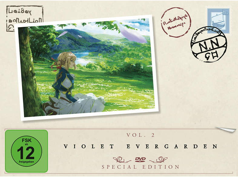 Violet Evergarden - Staffel 1/Vol. 2 [DVD]