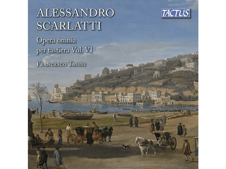 Francesco Tasini - Sämtliche Werke für Tasteninstrumente Vol.6 [CD]